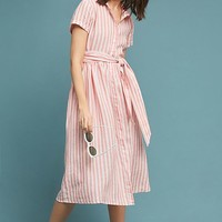 Longport Linen Shirtdress