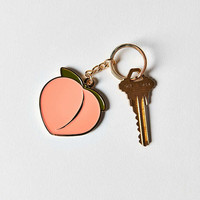 VERAMEAT Peach Keychain - Urban Outfitters