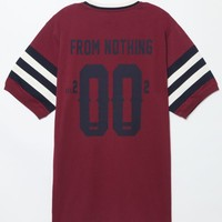 DGK From Nothing Soccer T-Shirt - Mens Tee - Maroon