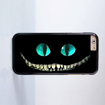 Cheshire Cat Alice In Wonderland  Plastic Case Cover for Apple iPhone 6 6 Plus 4 4s 5 5s 5c