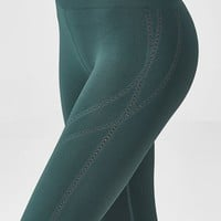 Seamless High-Waisted Statement Capri