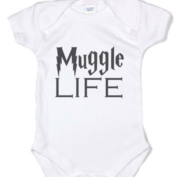 Muggle Life Infant Lap Shoulder Creeper Onesuit