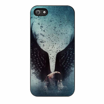castiel supernatural iphone 5 5s 4 4s 5c 6 6s plus cases