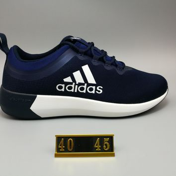 """Adidas"" NEO X Perspective Breathable Nets Loose Sports Shoes navy blue H-MDTY-SHINING"