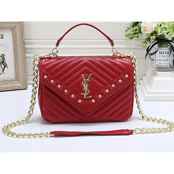 YSL Hot Selling Fashion Pure Nail Lady's Single Shoulder Bag