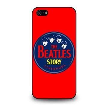 THE BEATLES STORY LIVERPOOL iPhone 5 / 5S / SE Case