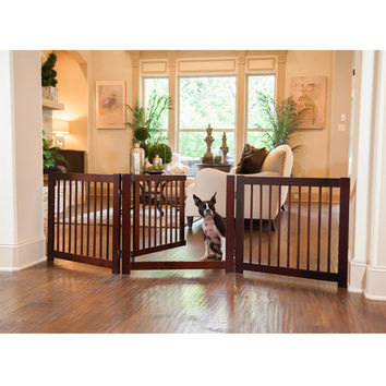 Primetime Petz 360 Degree 3-Panel Configurable Gate with Door