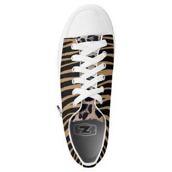 designer leopard look low tops converse sneakers printed shoes