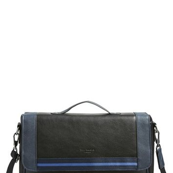 Men's Ted Baker London Stripe Messenger Bag