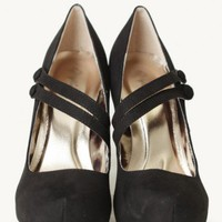 swing dance pumps in black at ShopRuche.com