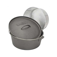 Bayou Classic Dutch Oven with Perforated Basket | Wayfair