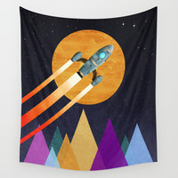 2nd Star to the right LLAP Wall Tapestry by Tjc555