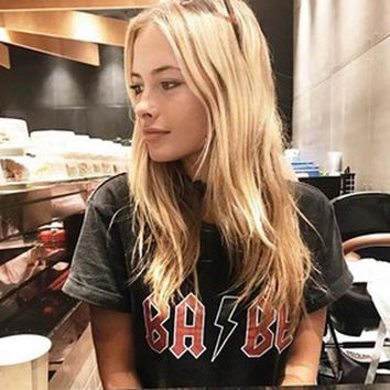 """""""BABE"""" ACDC Tee"""