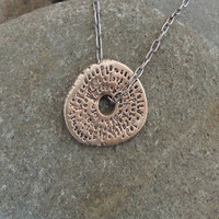 Palabras Disc Necklace
