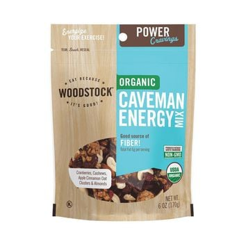 Woodstock Organic Caveman Energy Snack Mix - 6 Oz.
