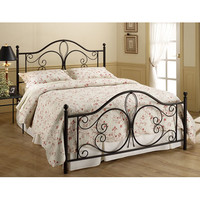 Milwaukee Antique Brown Full Complete Bed Hillsdale Furniture Full Standard Beds Bedroom F