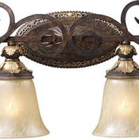 "0-032849>39""w Regency 4-Light Bathroom Vanity Burnt Bronze"
