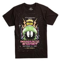 Looney Tunes Marvin The Martian Intergalactic Afterparty T-Shirt