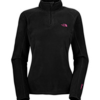WOMEN'S PINK RIBBON GLACIER 1/4 ZIP