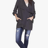 Gray Drapey Anorak from EXPRESS