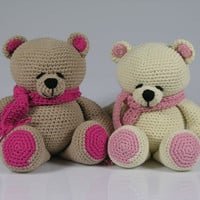 Crochet teddy bear-amigurumi forever friends bear-crocheted stuffed teddy bear-plush bear-amigurumi bear-stuffed animal