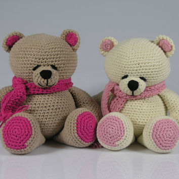 Amigurumi To Go Teddy Bear : Crochet teddy bear-amigurumi forever from Hippehaakselss ...