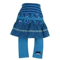 Naartjie Kids | Baby Girl Clothes | Naartjie Baby Girl Clothes | Pieced Mixed Print Skirt With Attached Leggings