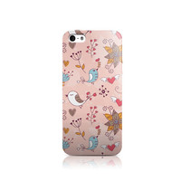 Pink Spring Birds iPhone iPhone 4 case, iPhone 5 case, iPhone 5c case, iPhone 6 case, Nexus 5 case, LG G3 case, Galaxy S5 case