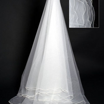 Wedding Veils Chapel Veils 5 Layer Veils Wedding Accessories