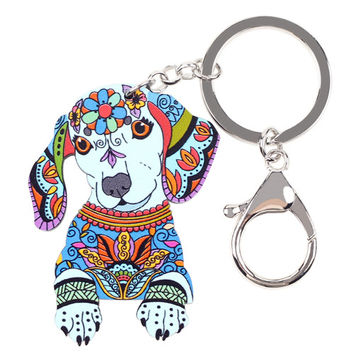 Dachshund Key Chain 2