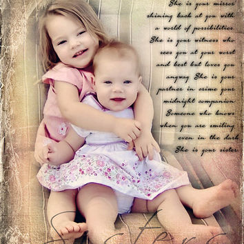 Maid Of Honor Sisters Best Friends Custom Photo Editing Photo Art