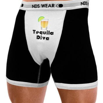 Tequila Diva - Cinco de Mayo Design Mens NDS Wear Boxer Brief Underwear by TooLoud