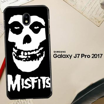 Horror Punk Rock Band Misfits Skull Z0506 Samsung Galaxy J7 Pro SM J730 Case