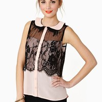Darkness Falls Blouse