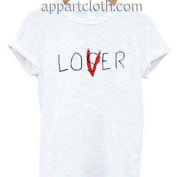 Loser Lover Funny Shirts, Funny America Shirts, Funny T Shirts For Guys
