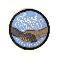 Friend To Strays Iron-On Patch