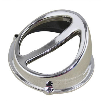 1 piece Silver Motorcycle Scooter Accessories Air Scoop Fan Cover Cap Fits for 50cc 125cc and 150cc GY6