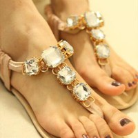 Elegant Crystal Sandals from BAIANSY
