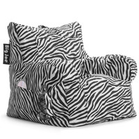 Big Joe Zebra Dorm Chair In Smartmax
