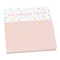 SQUARE NOTEPAD: CONFETTI - Notepads - Notebooks & Journals