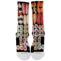 Sushi Customized Nike Elite Socks!!