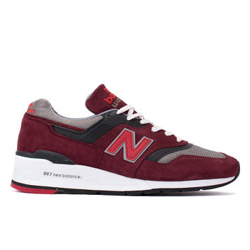 "997 ""Heritage"" (Burgundy/Grey)"