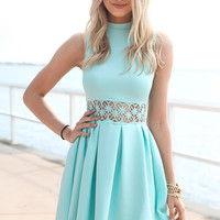 SABO SKIRT  Darling Dress - Mint - $46.00