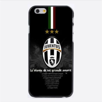 Italian Serie A Juventus Football Club hard Case Cover for iPhone 6/6 plus