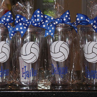 Volleyball 20oz tumbler