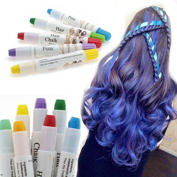DCCKL72 1 Pcs Beauty Temporary Super Comfortable Dye Colored Hair Pastel Hair Color Without Alcohol Crayon For The Hair