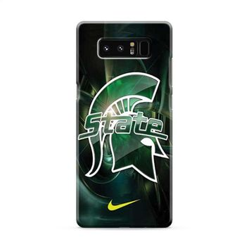 Michigan State nike Samsung Galaxy Note 8 Case