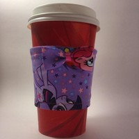 My Little Pony Beverage Cup Cozy with bow