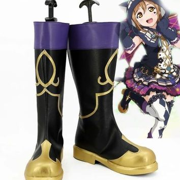 love live  School idol project Minami Kotori hero  cosplay costume lolita girls punk princess party shoes halloween boots