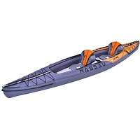 13' Zray Nassau Two Person Inflatable Kayak Set with Paddles and Hand Pump